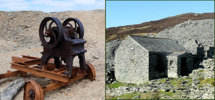 Lead Mining in the Dales, Slate in the Lakes