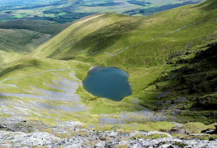 Scales Tarn on Blencathra