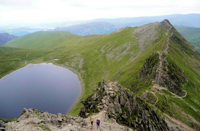 Striding Edge and Red Tarn